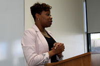 Alum Shares her Success Story to BBA Class