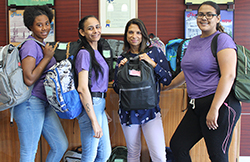Backpack Drive Hosted by Sisters United