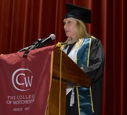 Marie Russo Student Speaker 102nd Commencement Ceremony
