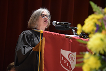 Mary Beth Del Balzo at CW 103rd Commencement Ceremony